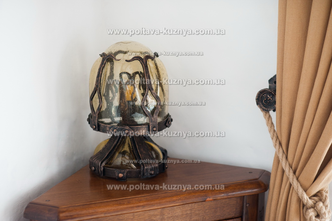 Forged lamps, chandeliers, street lanterns