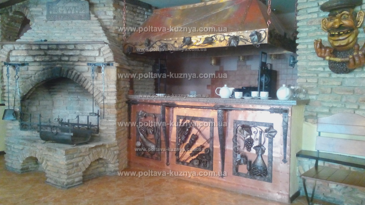 Forged items of interior