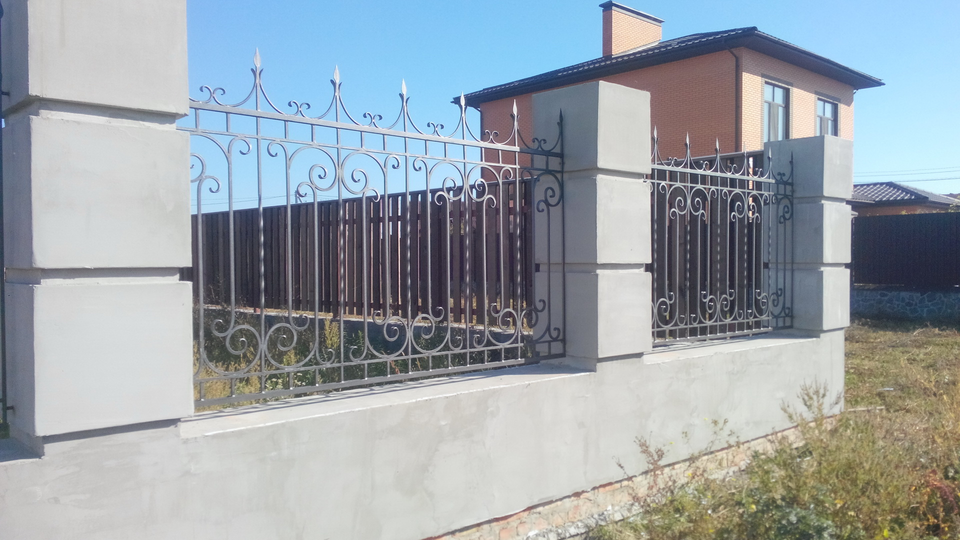 Forged  fence